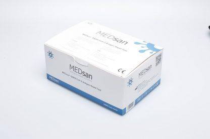 25er Verpackung MEDsan_SARS-CoV-2_Antigen_Rapid_Test