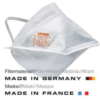 FFP2 Maske uvex silv-Air lite 4200 Made in Germany