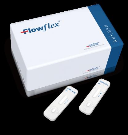 Flowflex SARS-CoV-2 Antigen Schnelltest von ACON für Unternehmen
